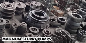 Pump Manufacturer : Slurry Pump Parts by Magnum Inc